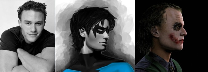 Dick Grayson – from young go-getter, to part of the Flying Graysons, to broken, psychotic killer clown