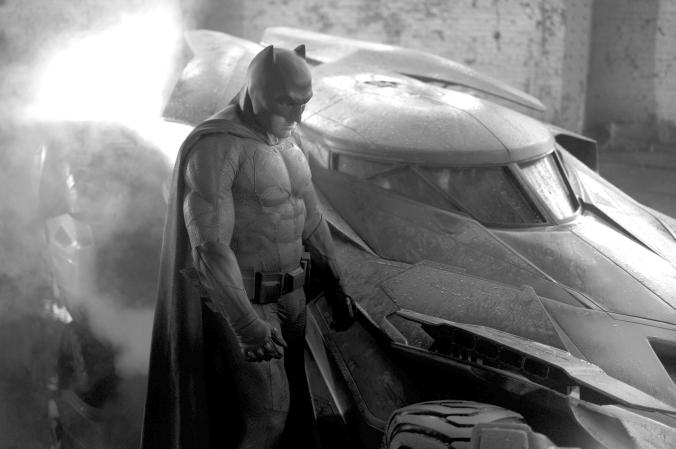 15 BvS Batsuit and Batmobile