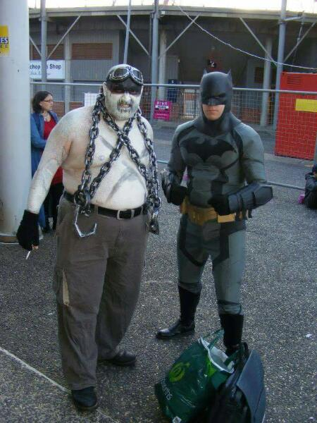08 Batman with a Warboy