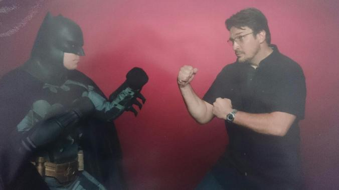 18 Batman vs Nathan Fillion